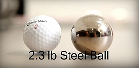 BUFF Lab Test Video : Steel Ball Impact Test